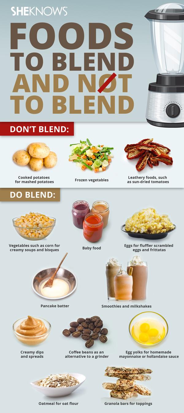 Tips for blending