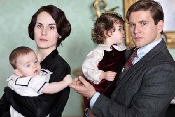 May and Tom Downton Abbey Season 4