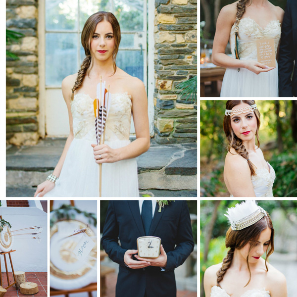 Hunger Games wedding -- Inspired by the Mocking Jay