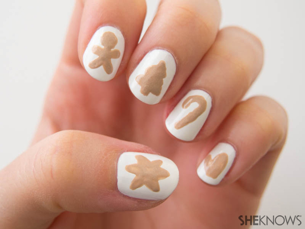 Cookie swap party nails | Sheknows.com -- cookie