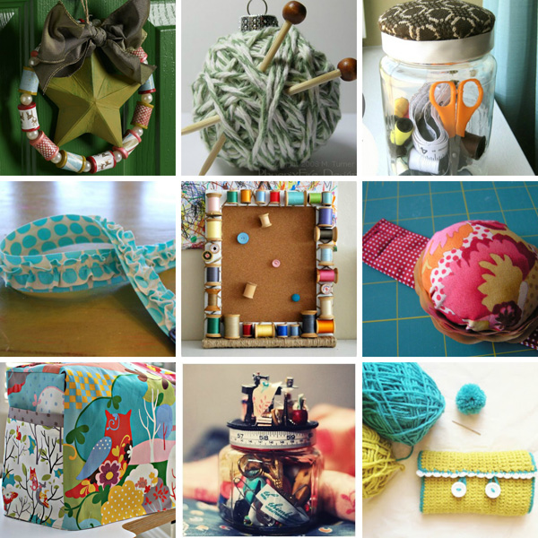 Handmade holiday gifts for crafty chicks