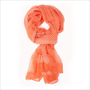 Polka dot scarf | Sheknows.com