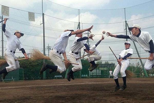 Baseball team quidditching | Sheknows.ca