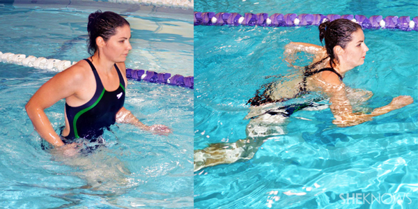 water jog