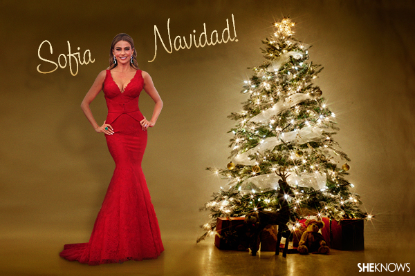 Sofia Vergara Christmas card