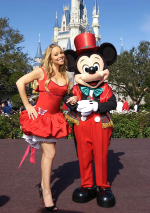 Mariah Carey Disney Christmas