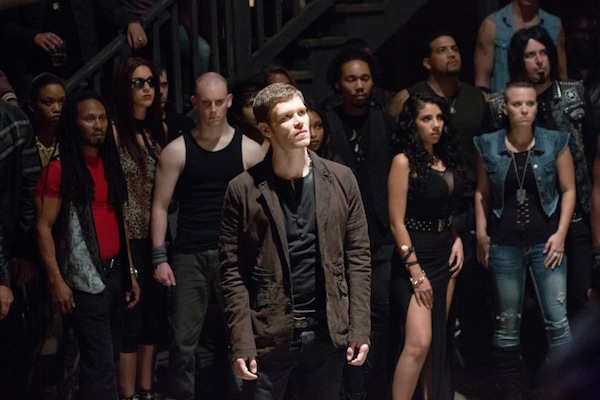 Klaus challenges Marcel in The Originals