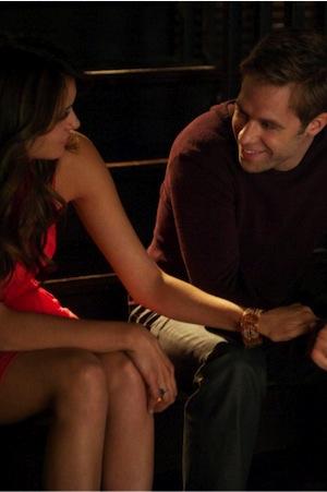 Elena and Aaron bond in The Vampire Diaries