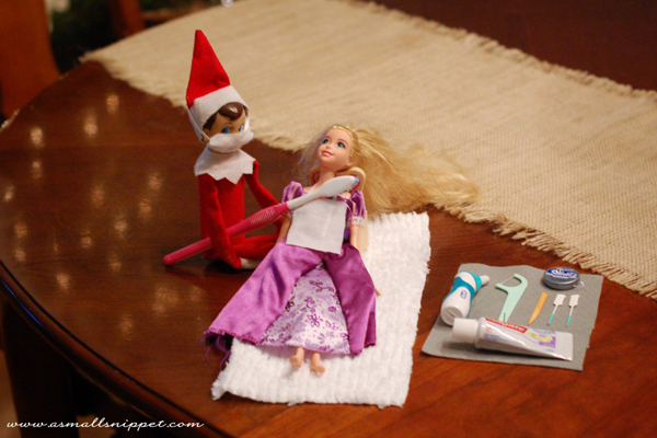 Elf on the Shelf - Get a real job