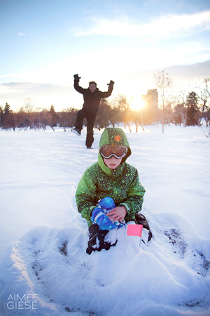 Get gorgeous winter photos of your kids