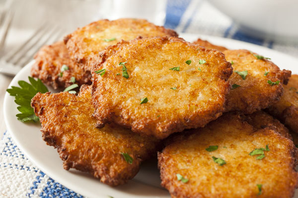 Latkes for Hanukkah