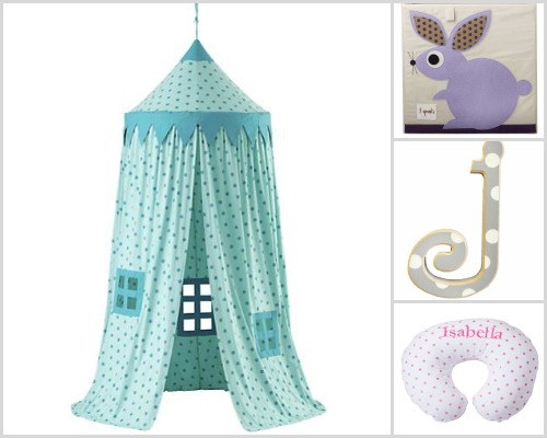 Nursery decor - Polka dots