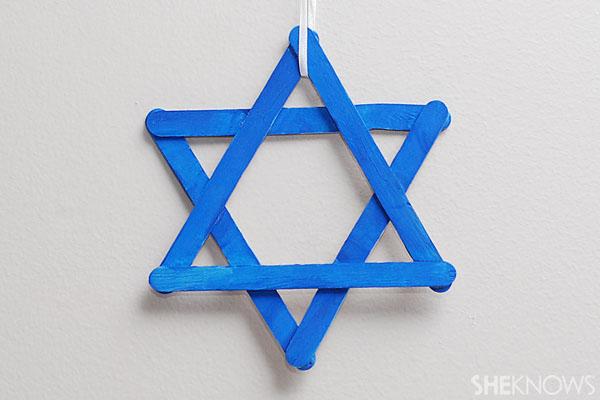Craft stick Star of David