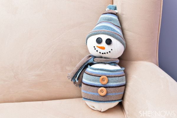Sweater snowman craft