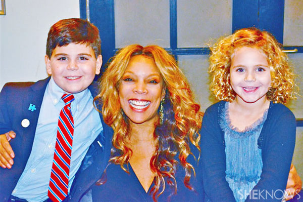 Wendy Williams with Eliza and Ethan Walmark