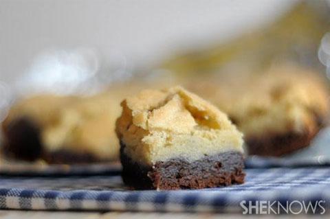 sugar cookie brownies
