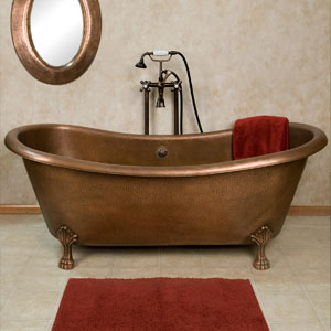 22 amazing soaking tubs to drool over for Claw foot soaker tub