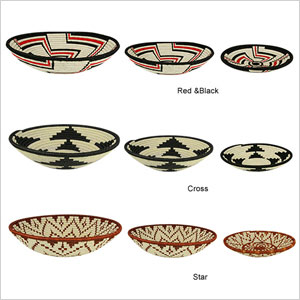 Master weaver baskets