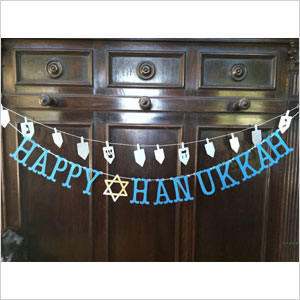 A very Etsy Hanukkah