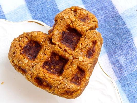 Pumpkin Waffle Cookies