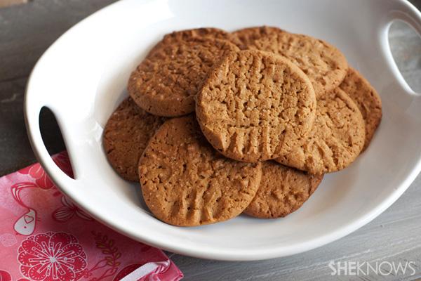 Maple Almondbutter Sea Salt Cookies