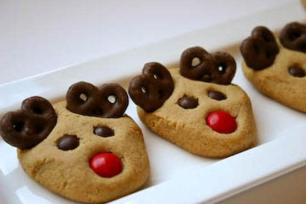 Gluten-Free Reindeer Cookies
