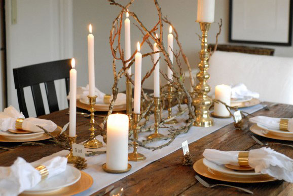 Winter tablescape ideas