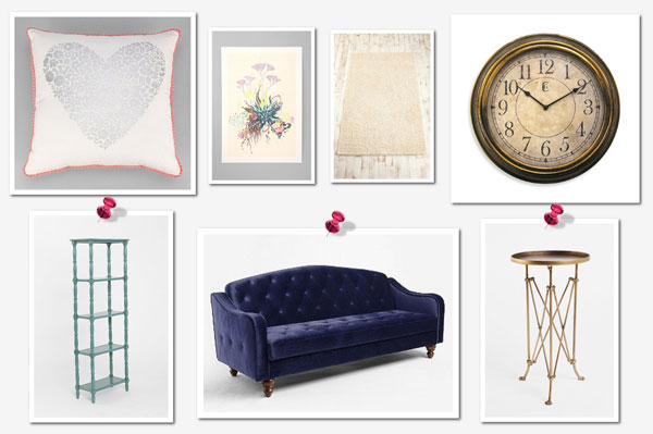 Things every girl needs for her first apartment for Things in a living room