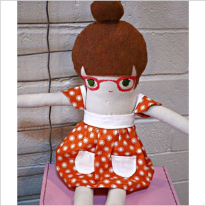 Kismet plush doll