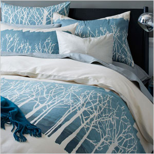 Winter woods duvet