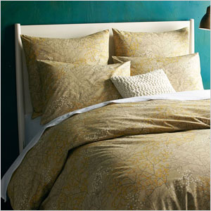 Organic winter berry duvet