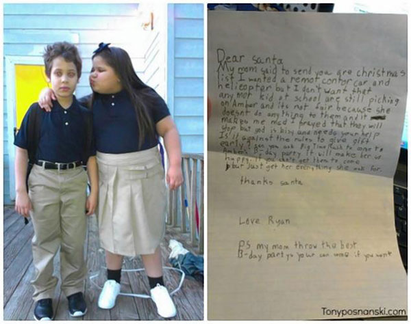 """Dear Santa"" letters to melt your heart"