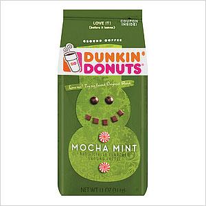 Dunkin' Donuts Mocha Mint