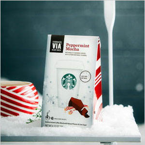 Starbucks VIA Peppermint Mocha