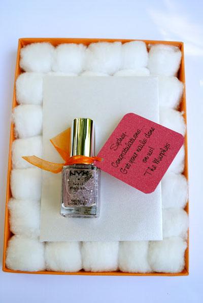 Gift card for mani/pedi or massage