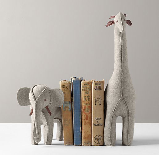 Nursery book ends