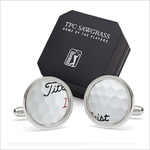Titleist golf-ball cufflinks