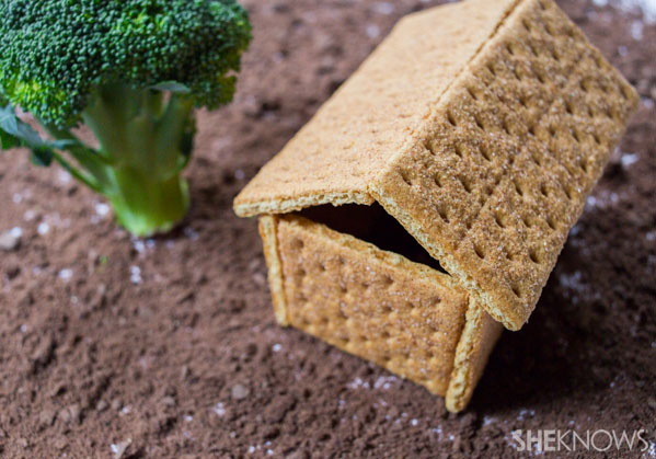 Graham-cracker house