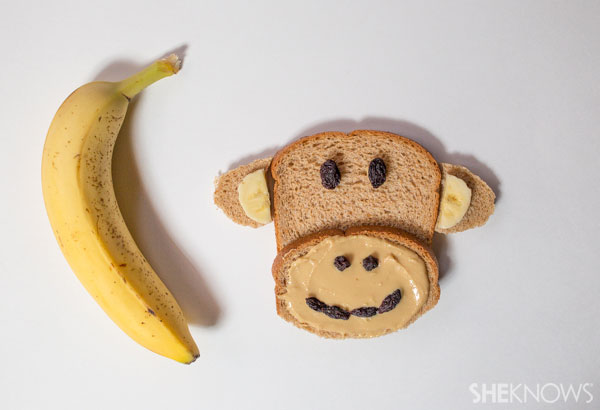 Peanut butter–sandwich monkey