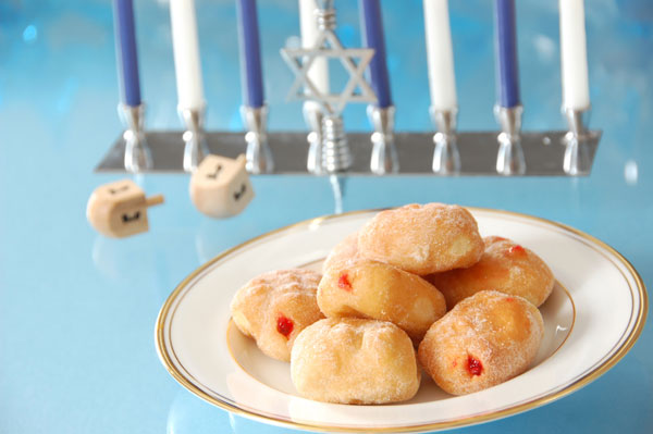 Sufganiyot for Hanukkah