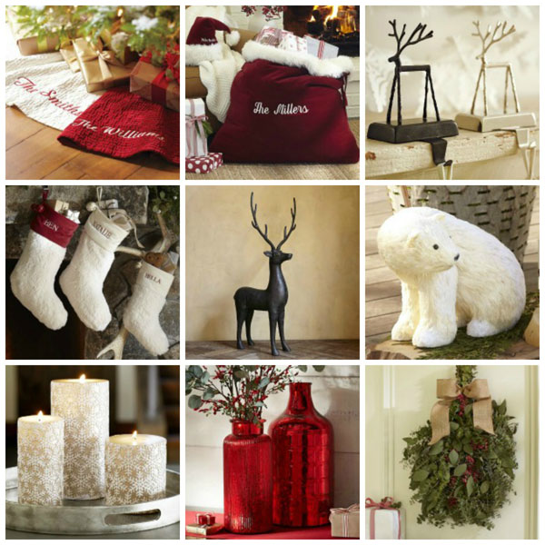 Weekend home decor shopper decorating for Christmas