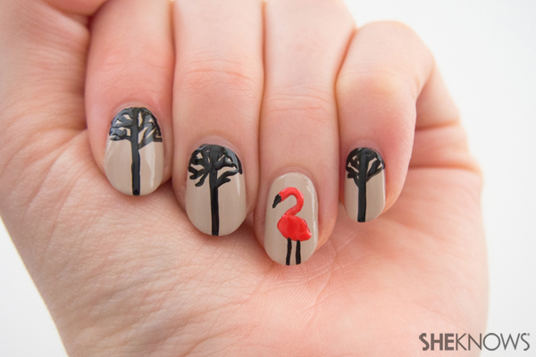 Nature takes over your nails