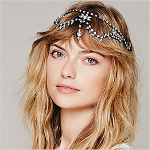 Sparkling headpiece