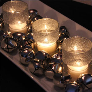 Jingle bells and candles