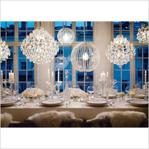 Decorations Ideas Silver And Gold Party Theme Elegant Home Let The Snow Fall In Your With