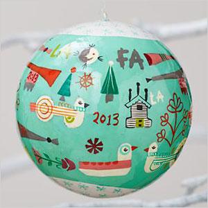 Year celebration ornament