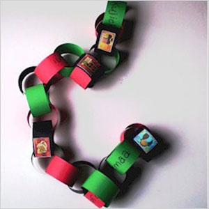 Seven princples of Kwanzaa chain