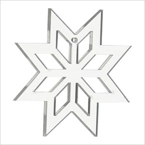 Clear snowflake