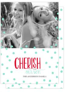 Christmas card trends: Cherish the season Costco cards
