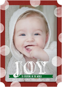 christmas card trends cheery circles flat holiday photo cards tiny prints - Tiny Prints Christmas Cards
